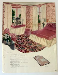 Vintage Shabby Chic Carpet Advertisement by munnypenney