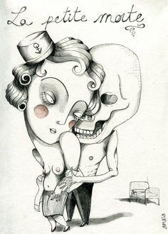 Amaia Arrazola Illustration: La petite morte / la pequeña muerta