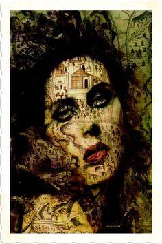 "Saatchi Art Artist ACQUA LUNA; Photography, ""57-World STREETS. - Limited Edition 1 of 9"" #art World Street, Green Art, Art World, Photo Art, Saatchi Art, Original Artwork, Artist, Photography, Painting"