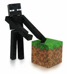 Minecraft Enderman Action Figure  - ** BARGAIN! **