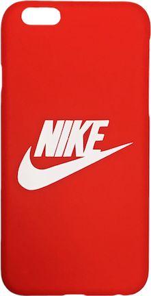 "Nike Red White ""Swoosh Logo"" Hard Plastic iPhone 6/6s Case"