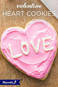 This V-Day, skip the candy hearts and customize classic sugar cookies with vanilla icing and a handwritten note, instead. Our Valentine Conversation Heart Cookies make it easy and are so cute! Line your pan with Reynolds® Parchment Paper, available in rolls or pre-cut sheets, for cookies that don't stick and fast, easy cleanup. You can even use our Parchment Paper for a no-mess piping bag—how sweet.