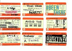 More altered train tickets from Daniela using typographic phrases A Level Art Sketchbook, Textiles Sketchbook, Train Tickets, Bus Tickets, Bus Art, Art Alevel, High School Art, Middle School, Identity Art