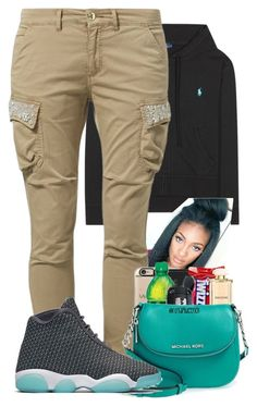 """""""Untitled #732"""" by alainnajones ❤ liked on Polyvore featuring Polo Ralph Lauren, FRACOMINA and NIKE"""