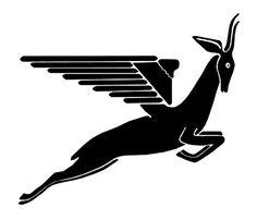 Flying Springbok Emblem 1948