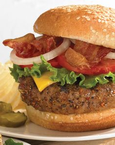 This easy recipe honors the classic burger with delicious, mouthwatering flavor.