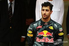 A seething Daniel Ricciardo claimed he has been 'screwed over' in two consecutive races by Red Bull after suffering pit-stop agony in the Monaco Grand Prix. Bulls Team, Daniel Ricciardo, Monaco Grand Prix, Red Bull Racing, F1 Drivers, Formula One, Monte Carlo, Garage, Bomber Jacket