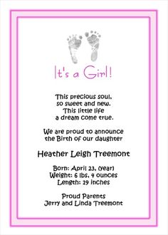 best Sayings For Baby Girl Birth image collection