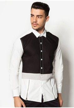 เสื้อเชิ้ต Long Sleeve Color Block Shirt With Zippers Zippers, Thailand, Collections, Lady, Long Sleeve, Sleeves, Jackets, Shirts, Shopping