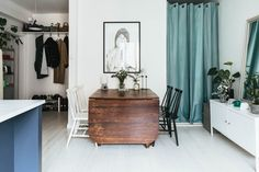 A Tiny Swedish Apartment Makes the Most of 330 Square Feet