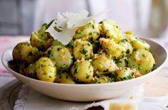 insalata di patate al pesto