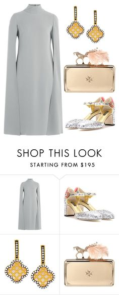 """""""Dinner"""" by mrs-dee ❤ liked on Polyvore featuring Valentino, Dolce&Gabbana, Freida Rothman, Alexander McQueen, Dinner, contestentry and summer2016"""