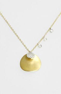 MeiraT 'Charmed' Diamond Pendant Necklace on shopstyle.com