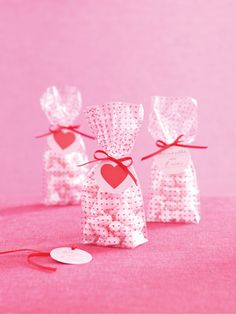 Martha+Stewart+Crafts+-+Valentine's+Day+Collection+-+Cellophane+Treat+Bags+-+Mini+Hearts+at+Scrapbook.com