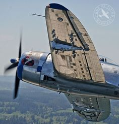 "P-47 ""JUG"" IN A GREAT SHOT"