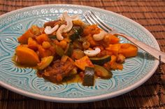 Wos zum Essn: Suhuuperlecker: Marokkanische Süßkartoffel-Tajine