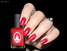 Enchanted Polish - February 2015 #REDpolish #redmani #classicred - bellashoot.com