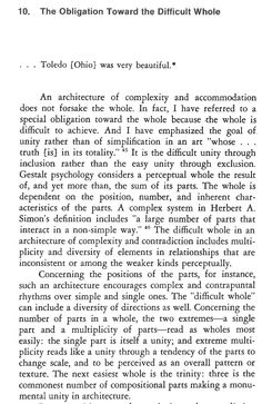 Robert Venturi's book Complexity and Contradiction in Architecture - Origins of Postmodernism 1966