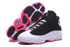 more photos 6e584 6a62f Buy Hot Sale Air Jordan 13 Retro GS Black Hyper Pink-White Girls Size For  Online from Reliable Hot Sale Air Jordan 13 Retro GS Black Hyper Pink-White  Girls ...
