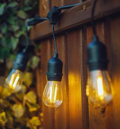 LED Outdoor String Lights - Romantic, Radiant, and Energy Efficient!