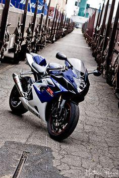 Suzuki gsxr 1000 by Matthieu Pegard