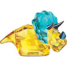 Swarovski Colored Crystal Figurine Lovlots Dinosaur - Travis for sale online Swarovski Ornaments, Swarovski Crystal Figurines, Swarovski Jewelry, Swarovski Crystals, Dinosaur Claw, Dinosaur Gifts, Barbie, Headlight Bulbs, Glass Figurines