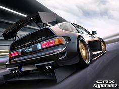 honda crx vtec track by typerulez #Honda #VTEC #Rvinyl http://www.rvinyl.com/Honda-Accessories.html