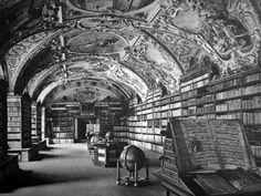 Strahovsky klaster , knihovna Praha , Karol Plicka
