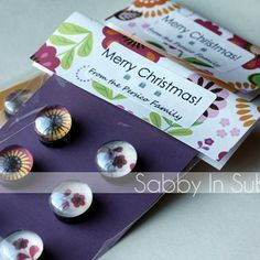 Sabby In Suburbia: Homemade Pendant Necklaces & Glass Magnets