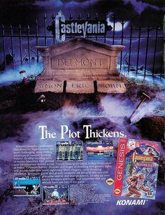 lembrei de horas e mais horas jogando castlevania.