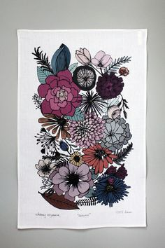 Love the flower styles and colours for tattoo work. this would make for a great half sleeve!