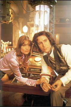 Eighth Doctor. I think he looks amazing. Very mysterious and ancient. He looks like a man with a secret and eyes that hold the universe.
