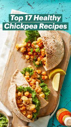 Vegan Chickpea Recipes, Tasty Vegetarian Recipes, Vegan Dinner Recipes, Veggie Recipes, Whole Food Recipes, Healthy Recipes, Chickpea Meals, Veggie Dinners, Easy Vegetarian Dinner