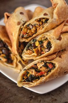 Healthy Recipes, Mexican Food Recipes, Cooking Recipes, What's Cooking, Healthy Food, Ethnic Recipes, Lunch Snacks, Southwest Egg Rolls, Chili's Southwest Egg Roll Recipe