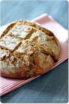 pain au levain et epautre