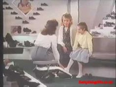 Clarks Magic Steps Shoes. I LOVED this advert as a kid and nagged my Mum for a pair for ages, she never gave in though!