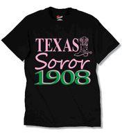 Alpha Kappa Alpha Texas Soror T-Shirt