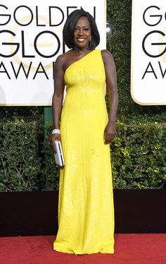 Viola Davis Dress: Michael Kors Collection 74th Golden Globe Awards, Golden Globes After Party, Nice Dresses, Formal Dresses, Michael Kors Collection, Red Carpet Dresses, Red Carpet Fashion, Viola Davis, Stylish