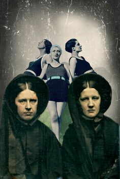 """""""Green envy spinsters"""" Collage by BiekB"""