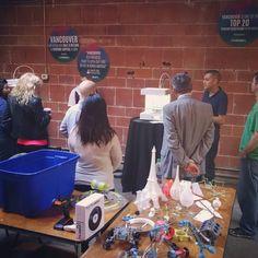 We're kicking off the #VanStartupWeek with our #3DPrinting  #hovercraft workshop! #VanStartupCity by tinkerine
