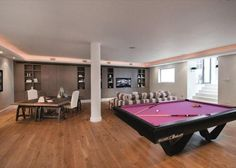 games room with possible poker table?