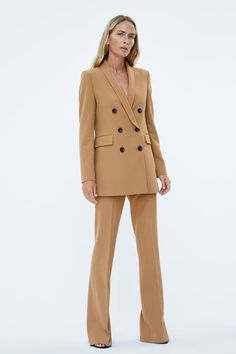 Women'S new in clothes. image 1 of flared trousers from zara Zara Fashion, Blazer Fashion, Suit Fashion, Fashion Looks, Zara Outfit, Classy Outfits, Chic Outfits, Fashion Outfits, Emo Fashion