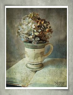 Autumn Still-life by Kerstin Frank art, via Flickr