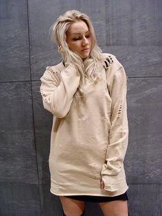 Sweater in Nude Urban Fashion, Nude, Street Style, Sweaters, Women, Urban Style, Sweater, Street Style Fashion, Urban Street Fashion