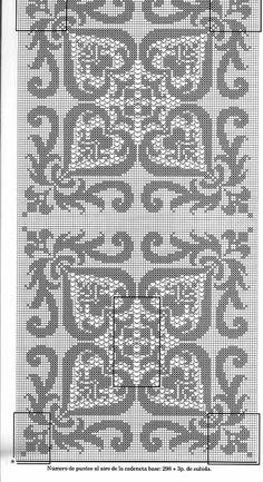 @nika Filet Crochet Charts, Crochet Doily Patterns, Crochet Doilies, Embroidery Patterns, Knitting Patterns, Cross Stitch Designs, Cross Stitch Patterns, Cross Stitching, Cross Stitch Embroidery