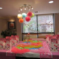 Girl's 5th Birthday Party - HELLO KITTY BALLERINA