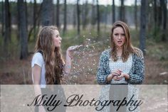 Doesn't this describe all of our relationships with our best friends? what a fun idea for a senior picture session or for a friend shoot!!
