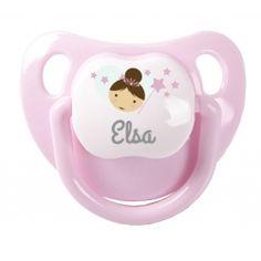 Chupetes personalizados tan monos como éste en nuestra tienda online.