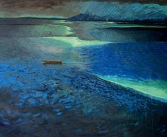 Stranded by Jennifer Marshall - painter - Tasmanian artist