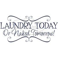 I need to get this for my laundry room because this would probably totally happen if I quit doing laundry for a day!